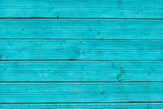 Tadelloses Blau malte hölzernes Brett, Beschaffenheitshintergrund lizenzfreie stockbilder