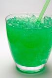 Tadelloses Getränk mit zerquetschtem Eis ( Stockbilder