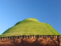 Tadeusz Kosciuszko mound. In Krakow founded by Polish nation to commemorate the National Hero Stock Image