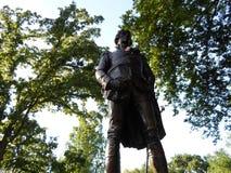 Tadeusz Kosciuszko Statue, jardim de Boston Public, Boston, Massachusetts, EUA Fotografia de Stock Royalty Free