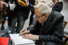 Tadeusz Mazowiecki Στοκ Εικόνες