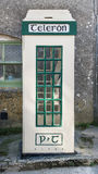 Taditional Irish Telephone Box Royalty Free Stock Images