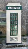 Taditional Irish Telephone Box. Traditional Public Telephone box in Ireland Royalty Free Stock Images