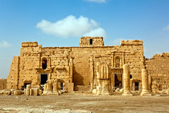 tadmor της Συρίας palmyra Στοκ Φωτογραφίες