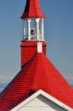 Tadoussac教堂,魁北克(加拿大) 图库摄影