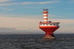 Tadoussac灯塔,魁北克,加拿大 免版税库存照片
