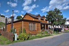 tadoussac Квебека дома Стоковое Фото