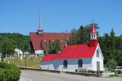 Tadoussac Canadá Fotografia de Stock Royalty Free