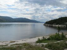 Tadoussac Canada Québec zdjęcia stock