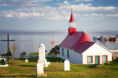 Tadoussac Chapel Royalty Free Stock Photos