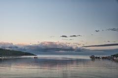 Tadoussac hamn Fotografering för Bildbyråer