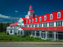Tadoussac Lodge stock image