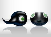 tadpole bonito. ilustração do vetor
