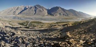Tadschikistan-Panorama Stockfotografie