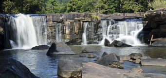 Tadton Waterfall in Thailand Stock Image