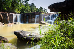 Tadtone waterfalls Royalty Free Stock Photography