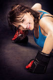 Tae Bo Girl Stock Photo