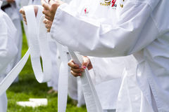 Tae Kwon Do Royalty Free Stock Photo