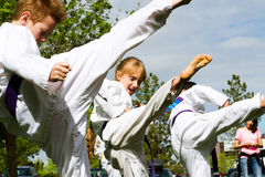 Tae Kwon Do Royalty Free Stock Photos