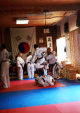 Tae Kwon Do test Stock Images