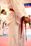 Tae Kwon Do Testing Royalty Free Stock Photography
