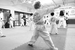 Tae Kwon hace/los artes marciales coreanos Imágenes de archivo libres de regalías