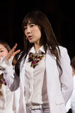 Tae Yeon (диапазон SNSD) на фестивале EquilibriumConcert Кореи человеческой культуры в Вьетнаме Стоковые Изображения