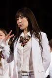 Tae Yeon przy Ludzkiej kultury EquilibriumConcert Korea festiwalem w Wietnam (SNSD zespół) Obrazy Stock