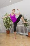 Taebo sprawności fizycznej trening 15 Obraz Royalty Free
