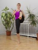 Taebo sprawności fizycznej trening 16 Zdjęcia Royalty Free