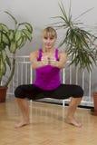 Taebo sprawności fizycznej trening 18 Zdjęcie Royalty Free