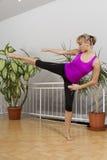Taebo sprawności fizycznej trening 19 Zdjęcia Stock