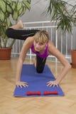 Taebo sprawności fizycznej trening 22 Obrazy Royalty Free