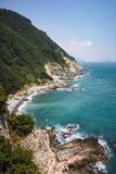 Taejongdae Cliff, Busan, Korea 3 Stock Image