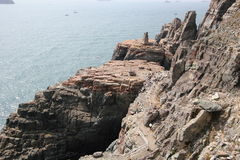 Taejongdae natural park in busan Stock Photography