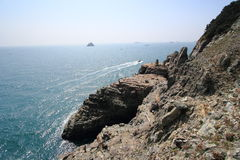 Taejongdae natural park in busan Stock Photos