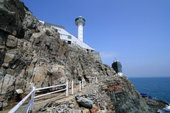 Taejongdae natural park in busan Stock Photo