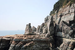 Taejongdae natural park in busan Royalty Free Stock Photo