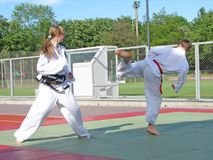 Taekwon-do Fotos de Stock Royalty Free