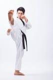 Taekwondo action Stock Photography