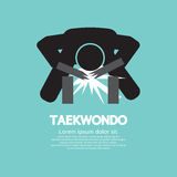Taekwondo Asian Sport Symbol Royalty Free Stock Images