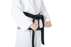 Taekwondo Black Belt Stock Photos