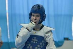 Taekwondo competition Royalty Free Stock Images