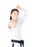 Taekwondo fist Royalty Free Stock Image