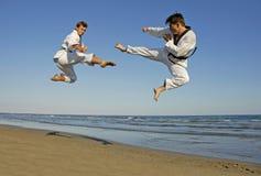 Taekwondo, kickboxing Stock Image