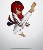 Taekwondo krijgsart. Stock Fotografie