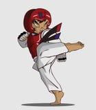 Taekwondo martial art Stock Photography