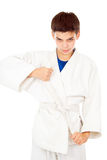 Taekwondo sports boy Royalty Free Stock Photography