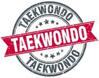 Taekwondo stamp Stock Photo