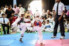 Taekwondo Tournament Stock Photos
